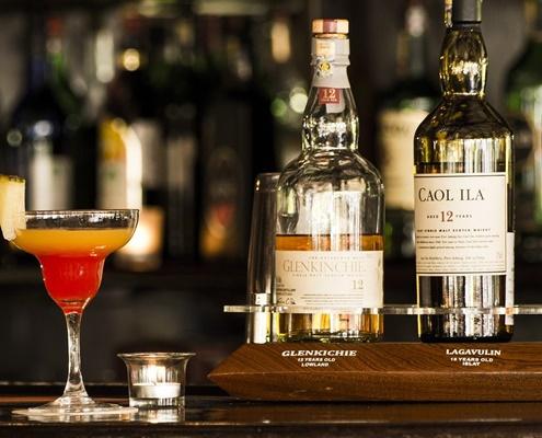 Whiskey Tasting in der Turmbar buchen